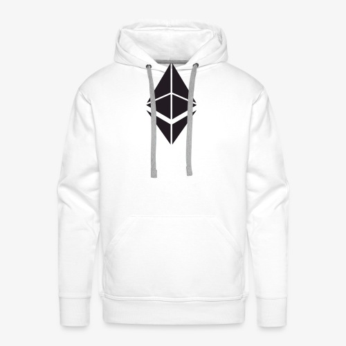 Ethereum Crypto Currency - Men's Premium Hoodie