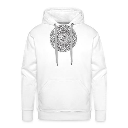 mandala mexico - Sweat-shirt à capuche Premium pour hommes