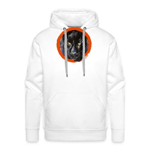panthere imp - Sweat-shirt à capuche Premium pour hommes