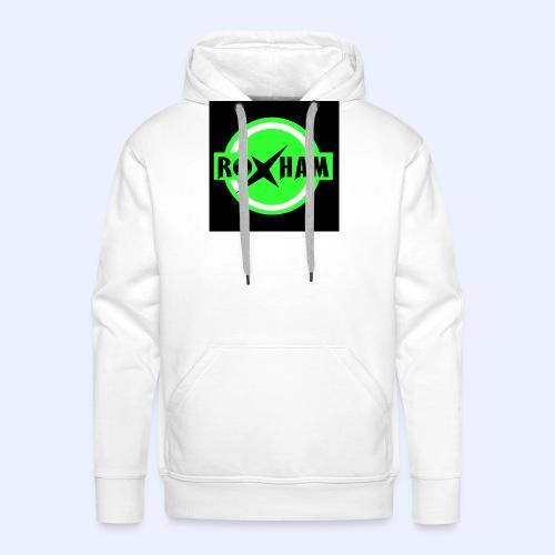 RoxHam-Button-2019 - Männer Premium Hoodie