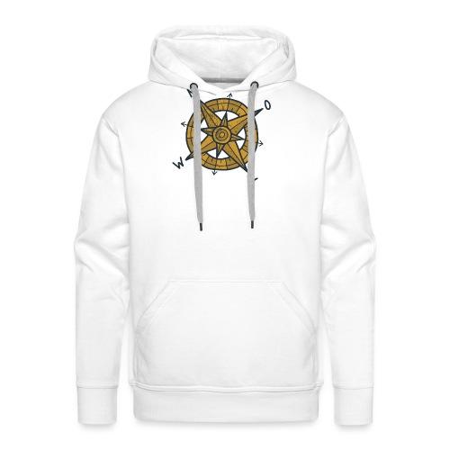 compas - Mannen Premium hoodie
