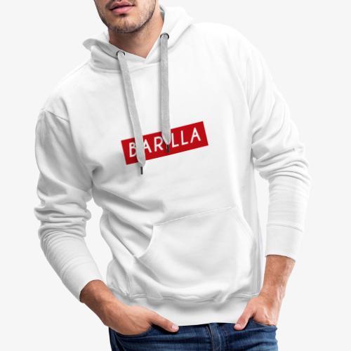 Barilla X Suprem - Sweat-shirt à capuche Premium pour hommes