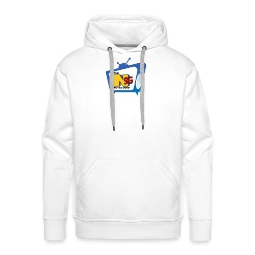 Logo NotSoGood Petit - Sweat-shirt à capuche Premium pour hommes
