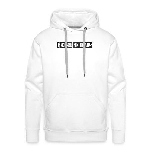 Gents&Generals Official 2013 Shirt - Männer Premium Hoodie