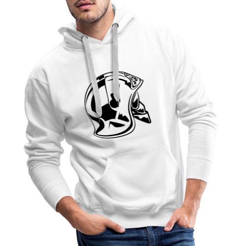 casque_2016 - Sweat-shirt à capuche Premium pour hommes