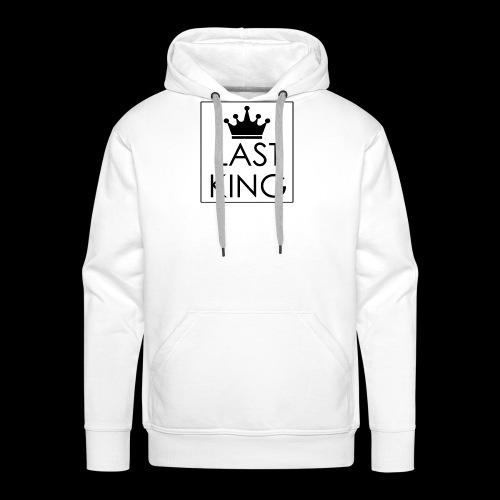 """""""Last King"""" Design - Männer Premium Hoodie"""