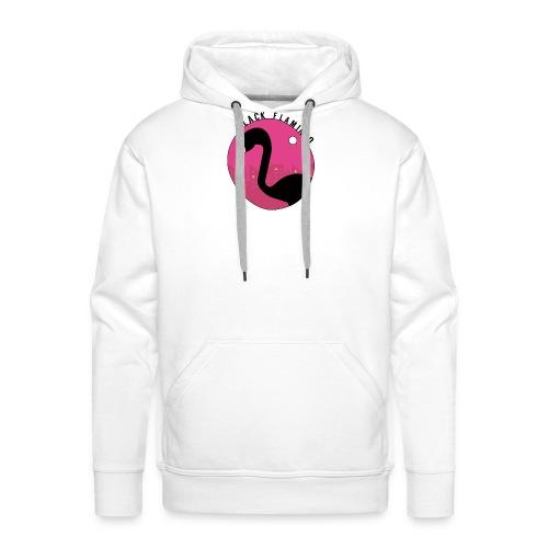 Black Flamingo - Men's Premium Hoodie