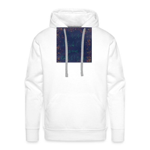 Fun Peace and Passion - Männer Premium Hoodie