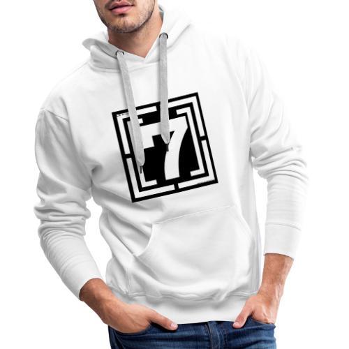 lOGO 7 - Sweat-shirt à capuche Premium pour hommes