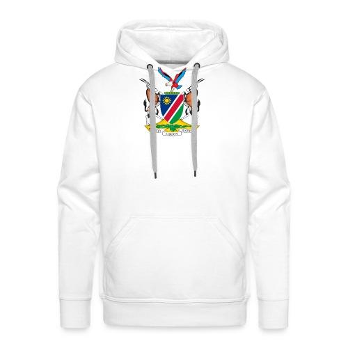 Namibia Coat of Arms - Männer Premium Hoodie