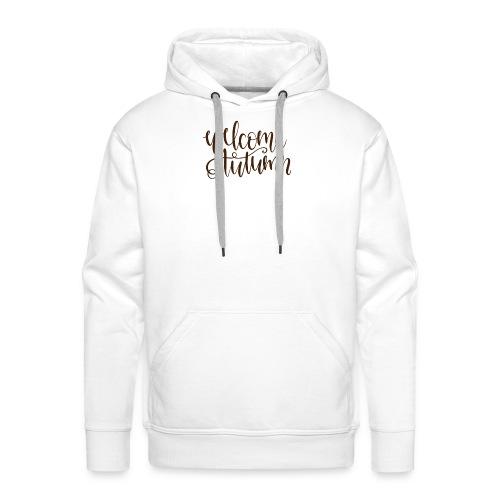 Welcome Autumn - Männer Premium Hoodie
