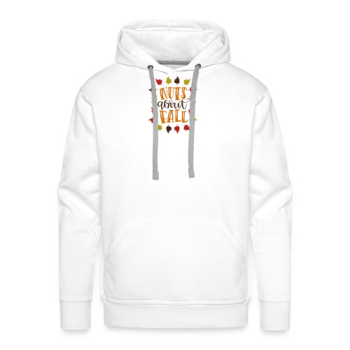 Nuts about fall - Männer Premium Hoodie