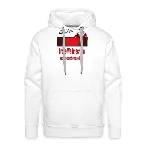 Weihnachten Christmas X mas 1 - Männer Premium Hoodie