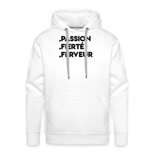 T-shirt Standard de liege - Sweat-shirt à capuche Premium pour hommes