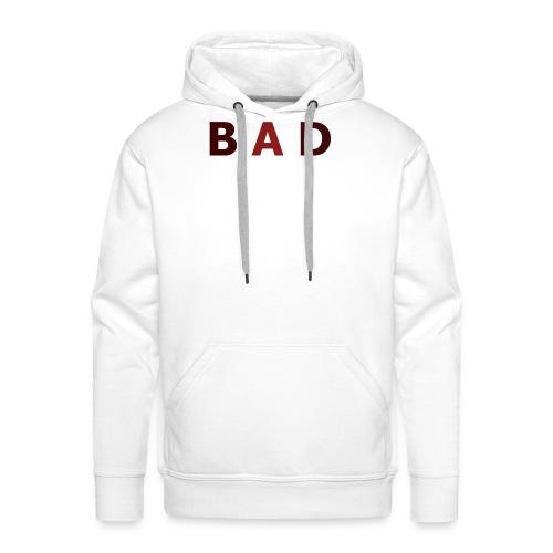 STYL ,,BAD'' - Bluza męska Premium z kapturem