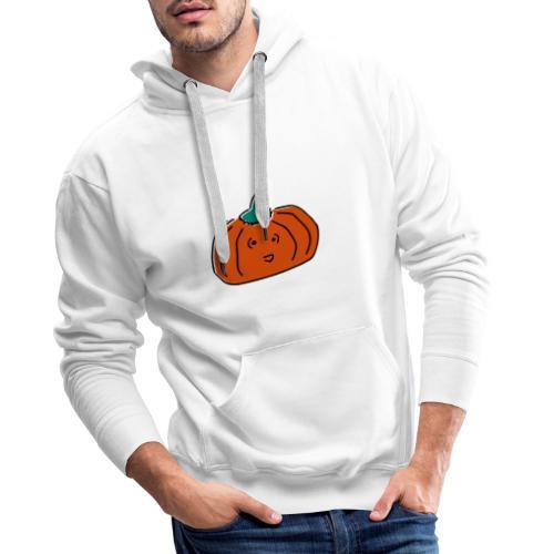 Citrouille Joyeuse - Sweat-shirt à capuche Premium pour hommes