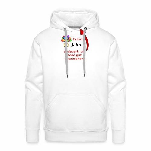 T-Shirt zum 50. Geburtstag Herren Spruch - Männer Premium Hoodie