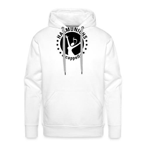 logo sw ausgeschnitten Zeichenfla che 1 - Männer Premium Hoodie