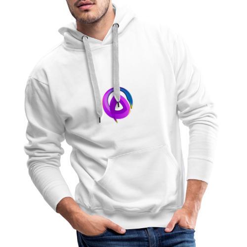 Logo officiel de la structure - Sweat-shirt à capuche Premium pour hommes