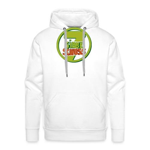 300dpi Logo sibbeschuss 2019 - Männer Premium Hoodie