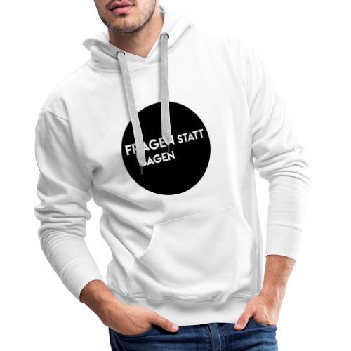 Font 1 2 - Männer Premium Hoodie
