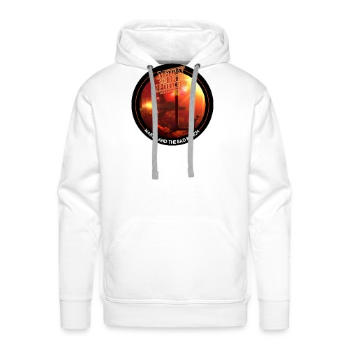 Round Cover / Marty And The Bad Punch - Men's Premium Hoodie