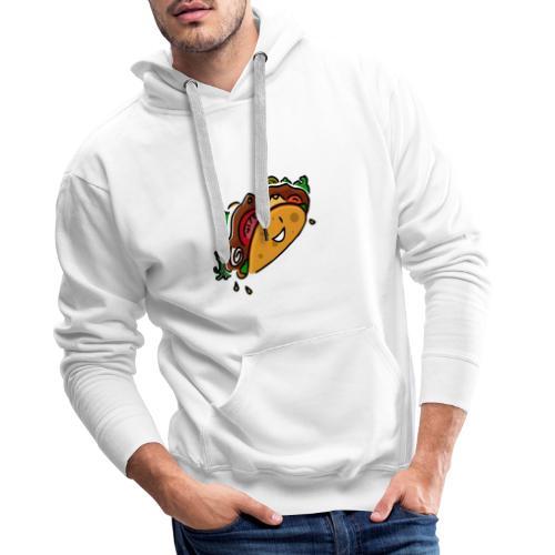 Glücklicher Taco - Männer Premium Hoodie