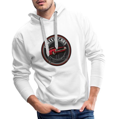 Classic Cars Gallery Logo Merchendise - Mannen Premium hoodie