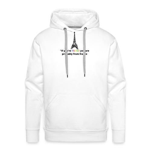 Slogan - Black Heading - Herre Premium hættetrøje