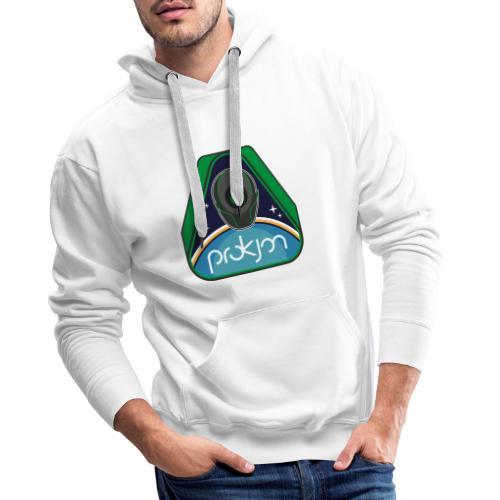 Space Emblem Design - Männer Premium Hoodie
