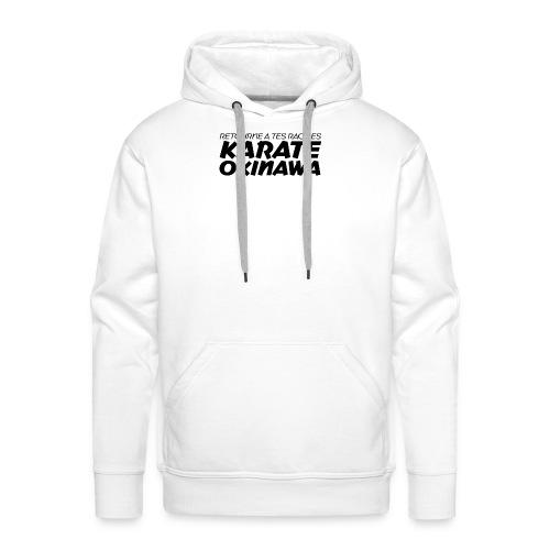 Retourne à tes racines : OKINAWA - Sweat-shirt à capuche Premium pour hommes