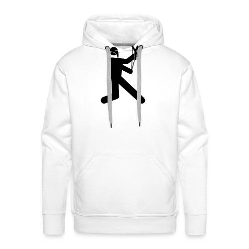 Anarchiste - Sweat-shirt à capuche Premium pour hommes