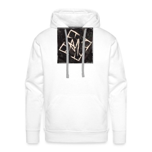 Across Yourself - Logo with background - Men's Premium Hoodie