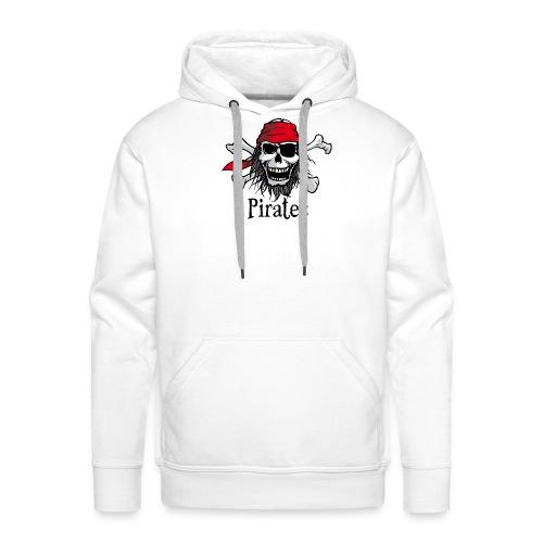 Crâne de pirate - Pirate skull - Sweat-shirt à capuche Premium pour hommes