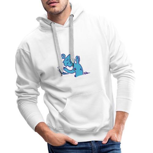 Entité Apaisante - Sweat-shirt à capuche Premium pour hommes