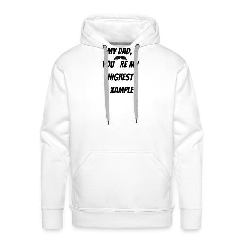 Mon DaD - Sweat-shirt à capuche Premium pour hommes