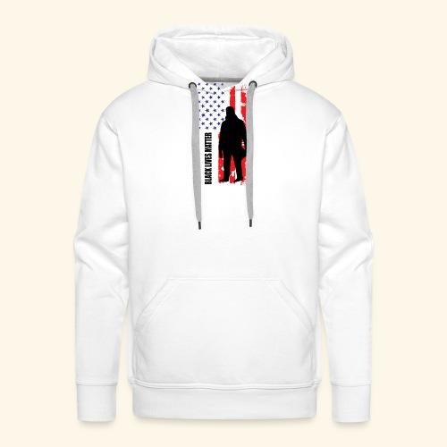 Black Lives Matter - Flagge - Männer Premium Hoodie