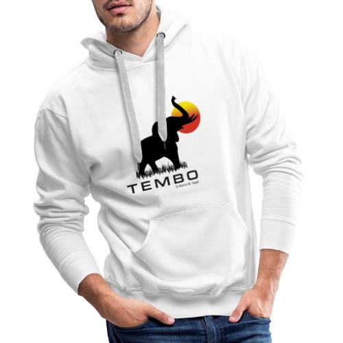 elephant - Tembo - Männer Premium Hoodie
