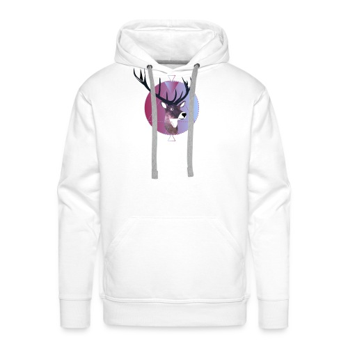 space renne design - Sweat-shirt à capuche Premium pour hommes
