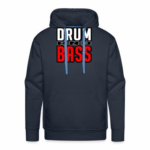 DRUMANDBASS 1 - Mannen Premium hoodie