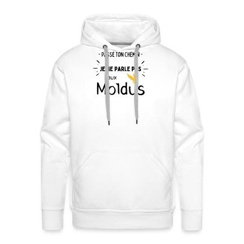 Je ne parle pas au moldus - Sweat-shirt à capuche Premium pour hommes