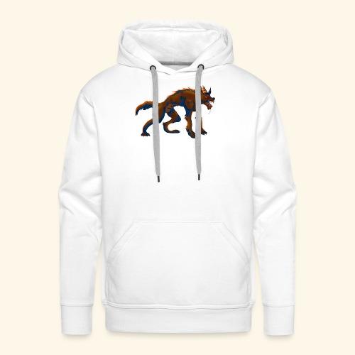 werewolf - Sweat-shirt à capuche Premium pour hommes