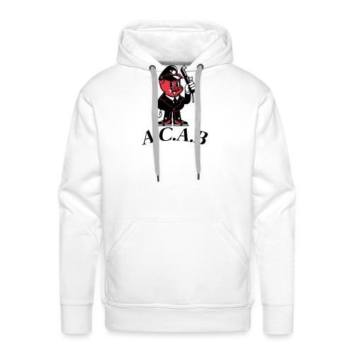 A.C.A.B cochon - Sweat-shirt à capuche Premium pour hommes