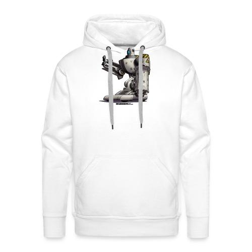 The S.H.I.E.L.D. Robot! - Herre Premium hættetrøje