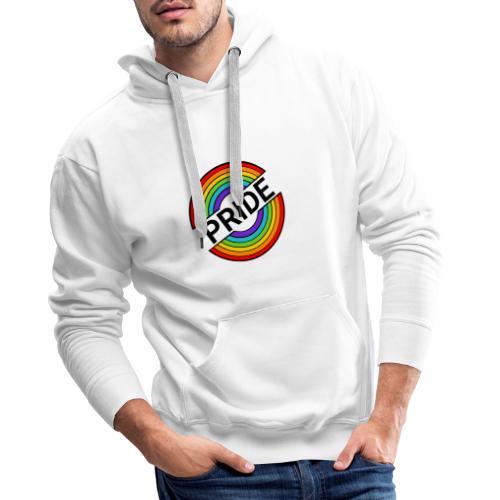 Pride regnbue - Herre Premium hættetrøje
