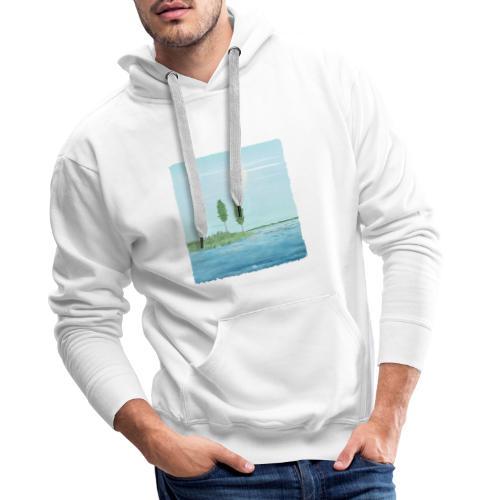 zomertijd - Sweat-shirt à capuche Premium pour hommes