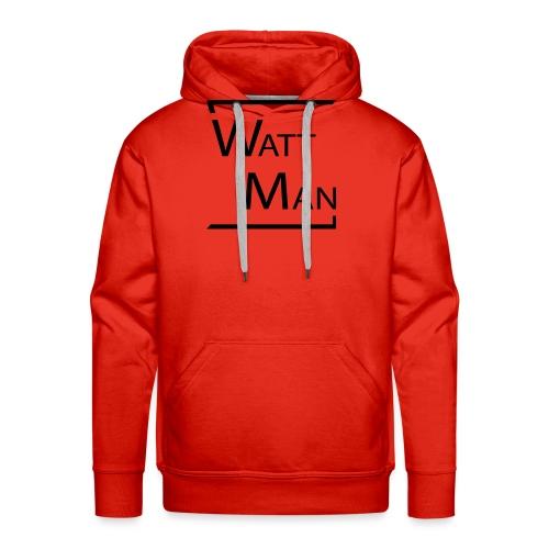 Watt Man - Mannen Premium hoodie