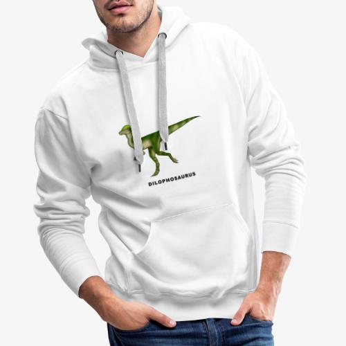 Dilophosaurus - Sudadera con capucha premium para hombre