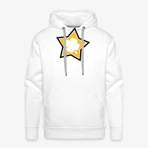 Lucky Star 1 - Sweat-shirt à capuche Premium pour hommes