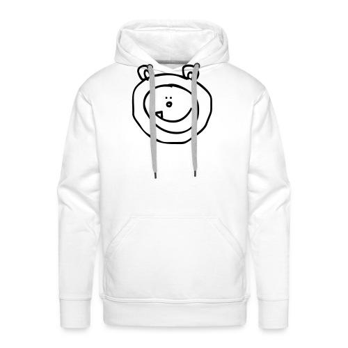 sneeuwbeer - Mannen Premium hoodie